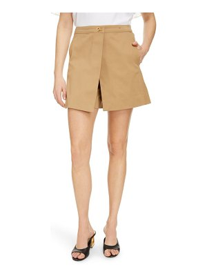 Givenchy cotton gabardine skort