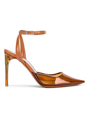 Givenchy couture stiletto ankle strap heels