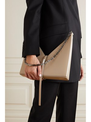 Givenchy cut out small leather shoulder bag
