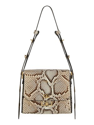 Givenchy Eden Medium Python Shoulder Bag