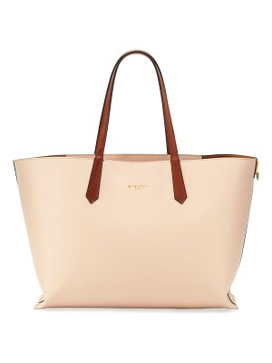 Givenchy GV Medium Smooth Leather Shopper Tote Bag