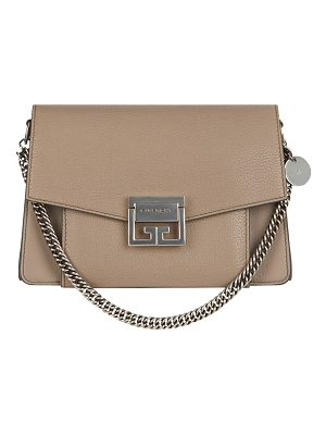 GIVENCHY Gv3 Small Pebbled Crossbody Bag