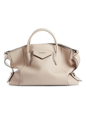 Givenchy antigona soft medium leather satchel