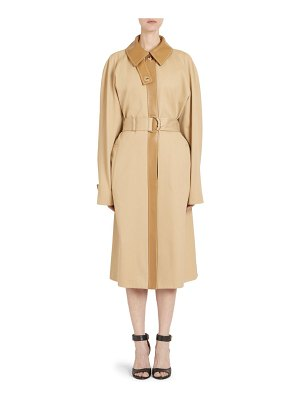 Givenchy masculine belted trench coat