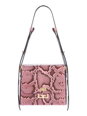 Givenchy medium eden genuine python shoulder bag