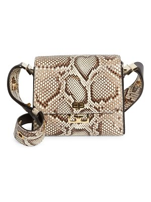 Givenchy medium eden python crossbody bag