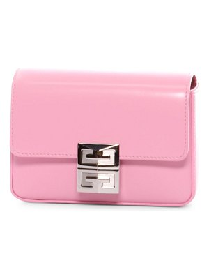 Givenchy small 4g leather crossbody bag