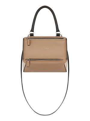 GIVENCHY Pandora Small Bicolor Sugar Satchel Bag