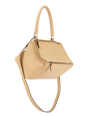 Givenchy Pandora Small Sugar Leather Shoulder Bag