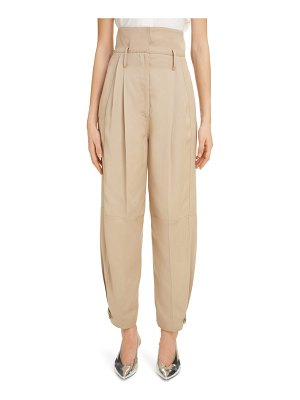 Givenchy pleated high waist pants