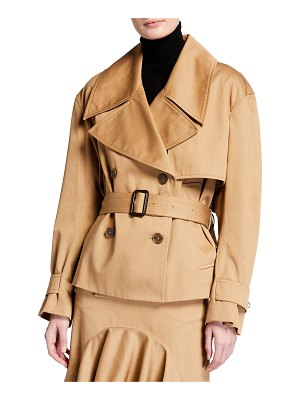 Givenchy Short Cotton Trench Jacket