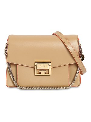 Givenchy Small gv3 leather & suede bag