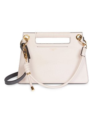 Givenchy small whip leather top handle bag