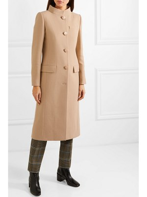 Givenchy wool-crepe coat