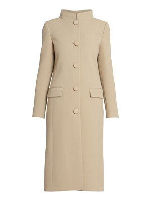 Givenchy wool funnelneck overcoat