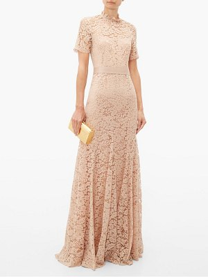GOAT imelda cotton blend guipure lace gown