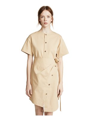 GOEN.J Asymmetrical Wrap Dress