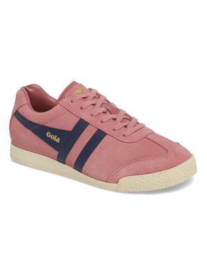 GOLA harrier suede low top sneaker