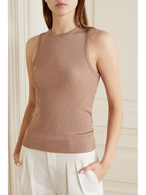 GOLDSIGN net sustain nineties ribbed stretch-jersey tank