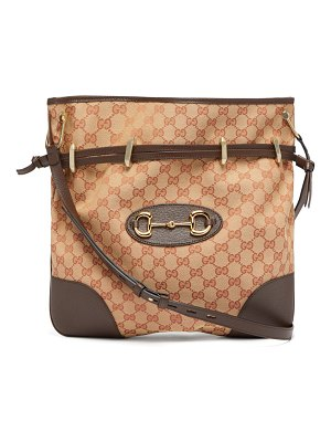 Gucci 1955 horsebit gg-jacquard shoulder bag