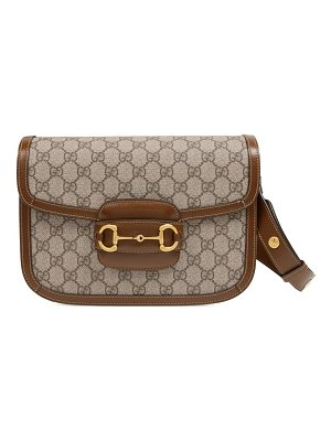 Gucci 1955 horsebit gg supreme canvas shoulder bag