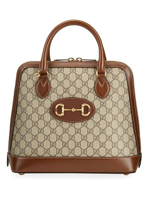 Gucci 1955 Horsebit Medium GG Supreme Top-Handle Bag