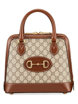 Gucci 1955 Horsebit Small GG Supreme Top-Handle Bag
