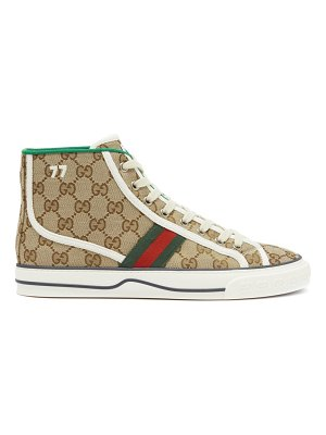 Gucci tennis 1977 gg supreme high-top trainers