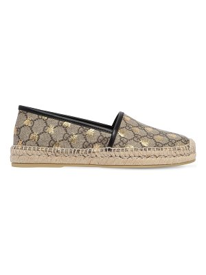 Gucci 20mm pilar gg supreme canvas espadrilles