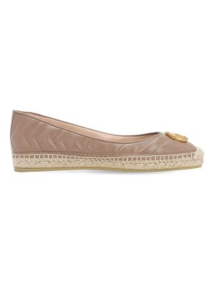 Gucci 20mm pilar leather espadrille ballerinas