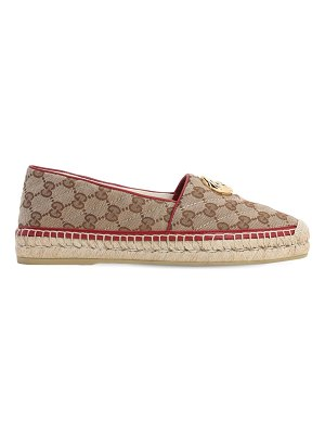 Gucci 20mm pilar quilted canvas espadrilles