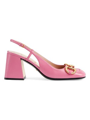 Gucci baby slingback pumps