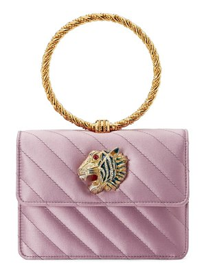 Gucci broadway quilted ring top handle bag