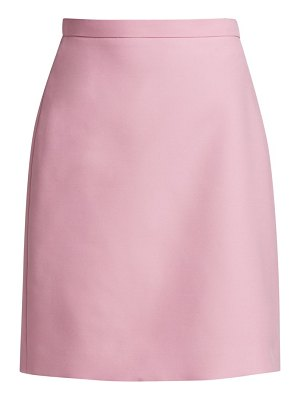 Gucci cady wool silk mini skirt