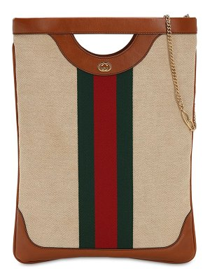 Gucci Charlotte vintage n/s canvas tote bag