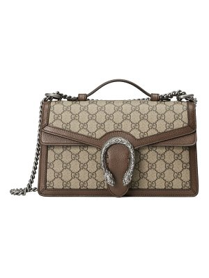 Gucci dionysus gg supreme canvas top handle bag