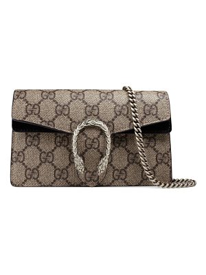 Gucci dionysus gg supreme mini chain shoulder bag