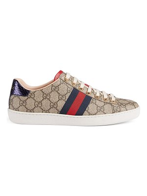 Gucci gg canvas new age sneakes