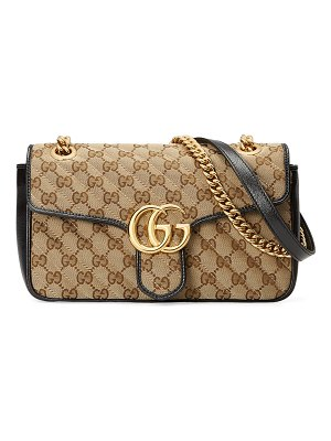 Gucci GG Marmont 2.0 Small Matelasse Original GG Shoulder Bag