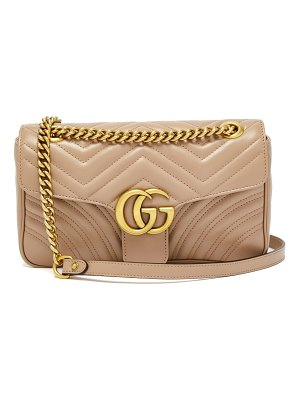 Gucci GG Marmont small quilted-leather shoulder bag