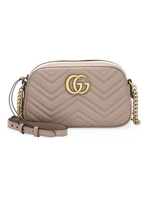 17717a8f9cc302 GUCCI Gg Marmont Small Matelassé Leather Belt Bag | edpolicy.stanford.edu