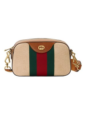 Gucci gg vintage canvas messenger bag