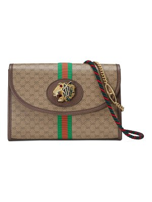 Gucci supreme canvas shoulder bag