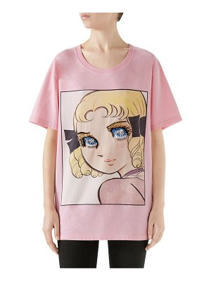 Gucci manga sequin eyes tee