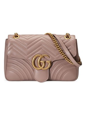 Gucci medium gg matelasse leather shoulder bag