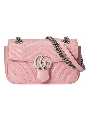 Gucci mini gg 2.0 matelasse leather shoulder bag