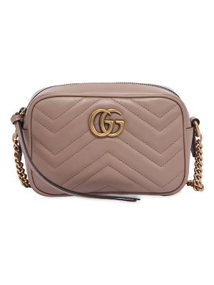 Gucci Mini gg marmont 2.0 leather camera bag