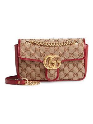 Gucci mini gg 2.0 quilted shoulder bag