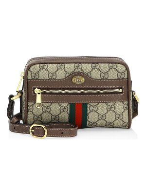 Gucci mini ophidia gg supreme canvas crossbody bag