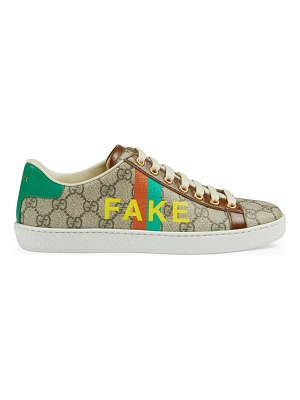 Gucci new face fake sneakers